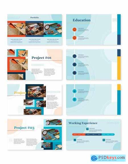 PERZONA (LIGHT) - Curriculum Vitae Presentation