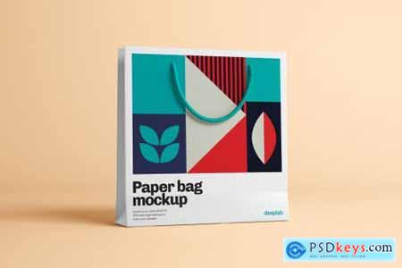 Paper Bag Mockup - 10 Sets 4429120