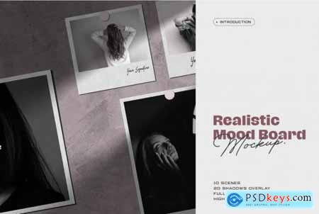 Moodboard Mockup Kit 4481949