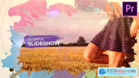 Videohive Watercolor Parallax Slideshow 24089907