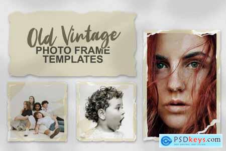 Old Vintage Photo Frame Templates