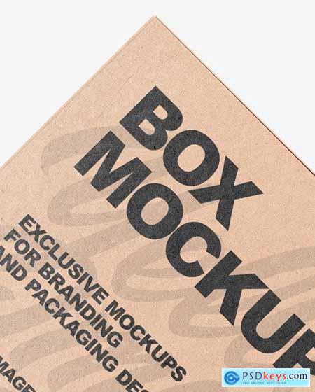 Two Kraft Boxes Mockup 53653