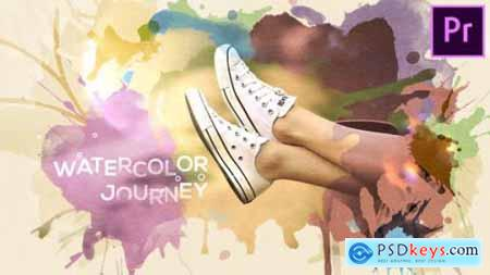 Videohive Watercolor Journey 22438051
