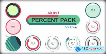 Videohive Percent Pack 6651215