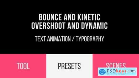 Videohive Bounce & Dynamic Text Animations 19691145