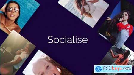 Videohive Socialise 25545407