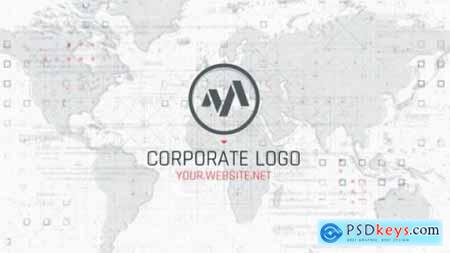 Videohive Corporate Map Logo 25517368