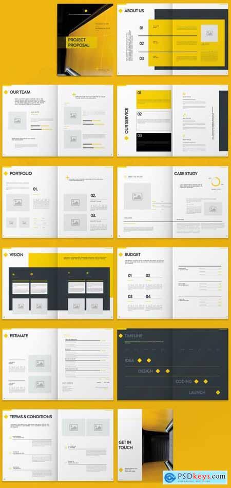 Yellow Proposal Layout 274125501