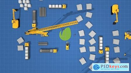 Videohive Logo Construction Architecture 23996358