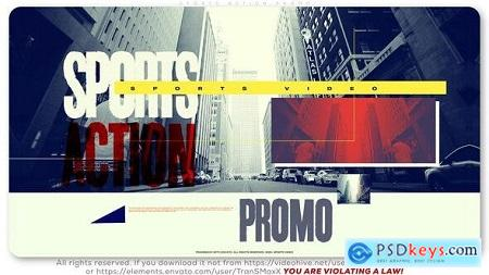 Videohive Sport Action Promo 25499664