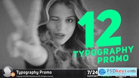 Videohive Typography Promo Stomp 19359800