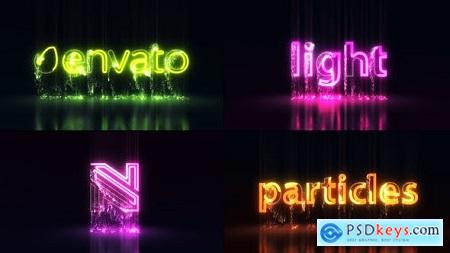 Videohive Light Particles Logo Titles 25515764