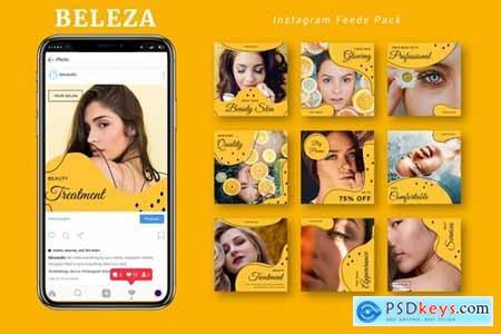 Beleza - Instagram Feeds Pack