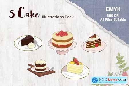 Cake Illustration