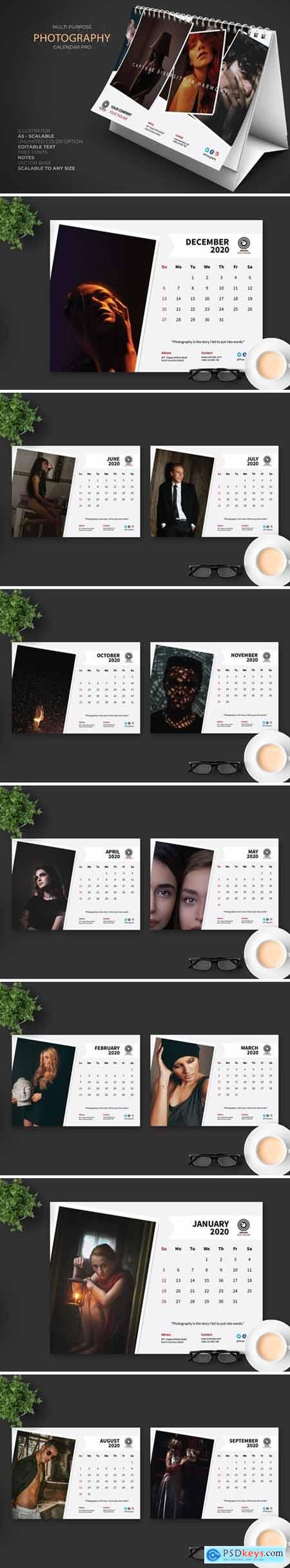 2020 Creative Photography Calendar Pro