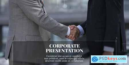 Videohive New Line Corporate Presentation 21462389