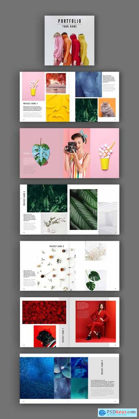 Square Look Book Layout 296400308