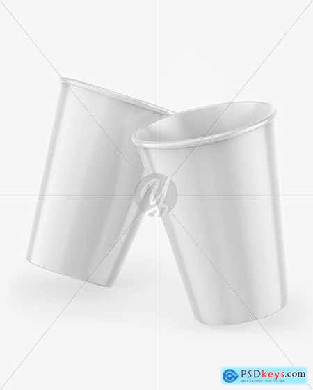 Glossy Coffee Cup Mockup 53540