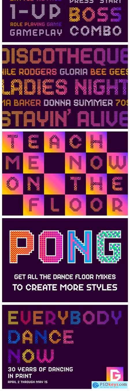 Dance Floor Mix 29 Font