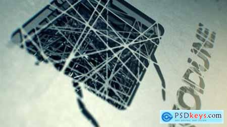 Videohive Spiderweb Logo Reveal 4047509