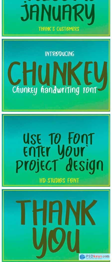 Chunkey Font