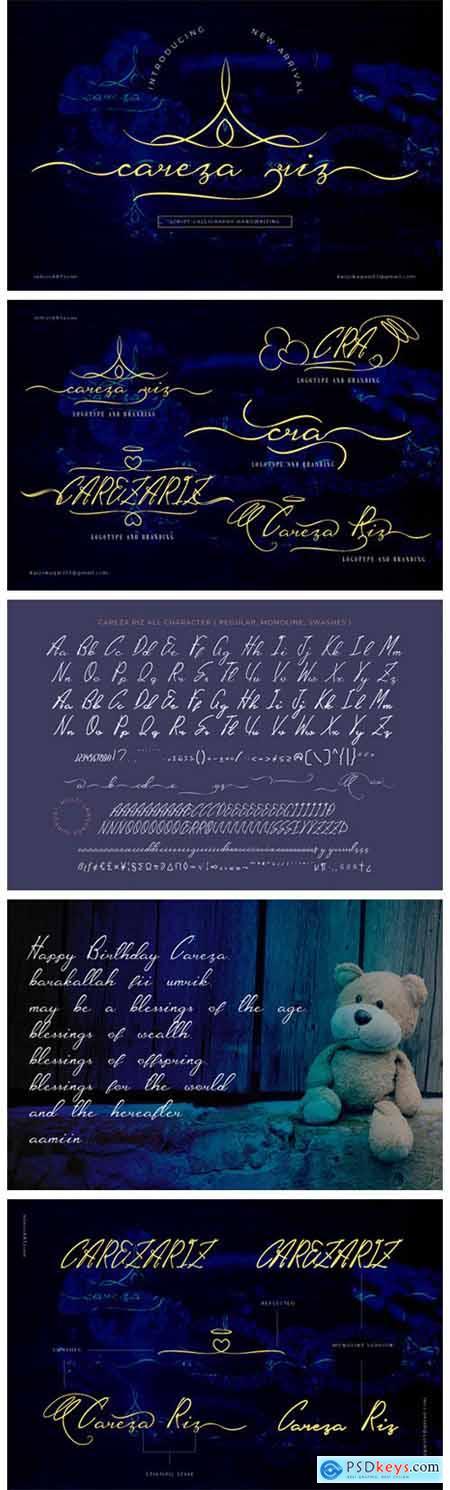 CarezaRiz Font