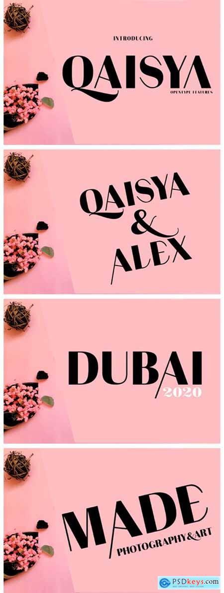 Qaisya Font