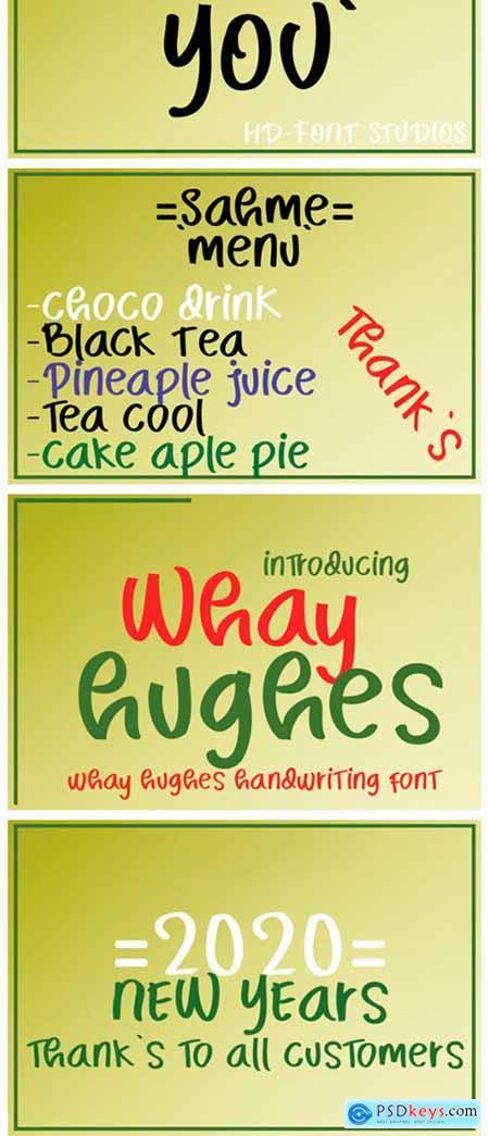 Whay Hughes Font