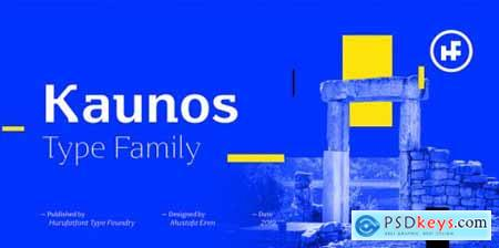 Kaunos Complete Family
