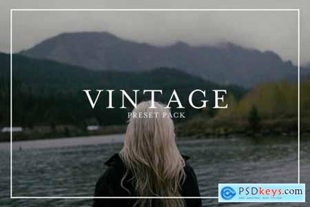 Vintage Film Presets Pack 4445973