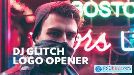Videohive Dj Glitch -- Dynamic Logo Opener 23656032