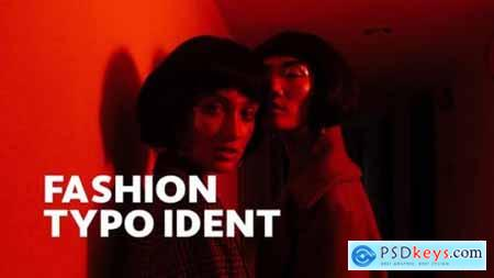 Videohive Fashion Ident -- Typo Opener For Final Cut & Apple Motion 23795945