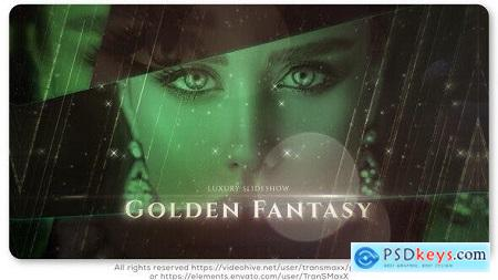 Videohive Golden Fantasy Luxury Slideshow 25543195