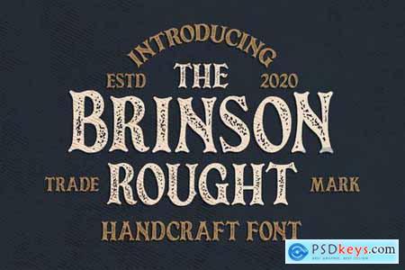 Brinson Rought - Vintage Serif Font