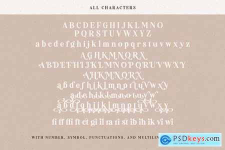 Mandalika - Modern Bold Serif 4438236