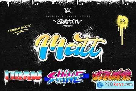 Graffiti - Photoshop Layer Styles