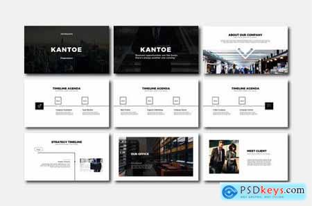 Kantoe - Powerpoint Google Slides and Keynote Templates