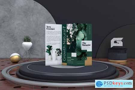 The Botanist Trifold Brochure