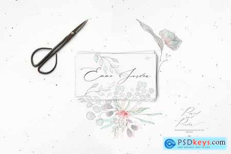 Pencil and Powder Flowers
