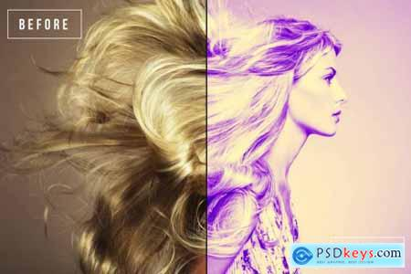 20 Faded Duotone Lightroom Presets 4492474