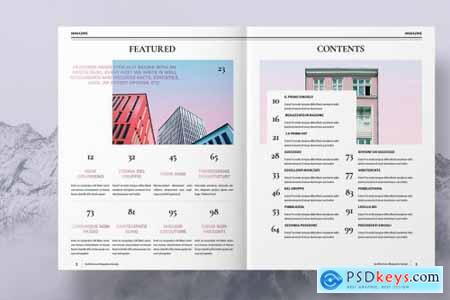 Colorful Architecture Magazine 4492939