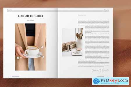 Fashion Magazine Layout 4493004