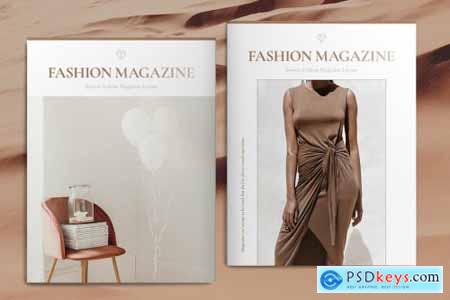 Fashion Magazine Layout 4493004