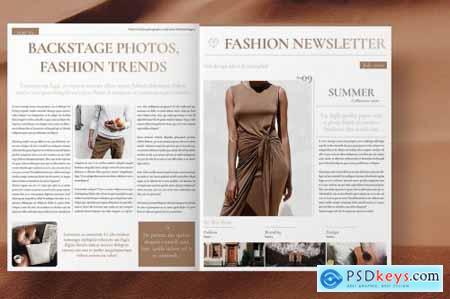Fashion Newsletter 4493299