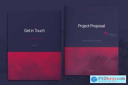 Purple Business Proposal Layout 4492981