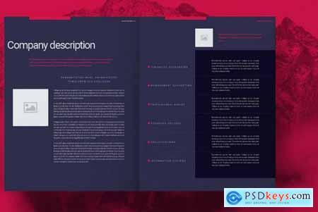 Purple Business Brochure Layout 4492886