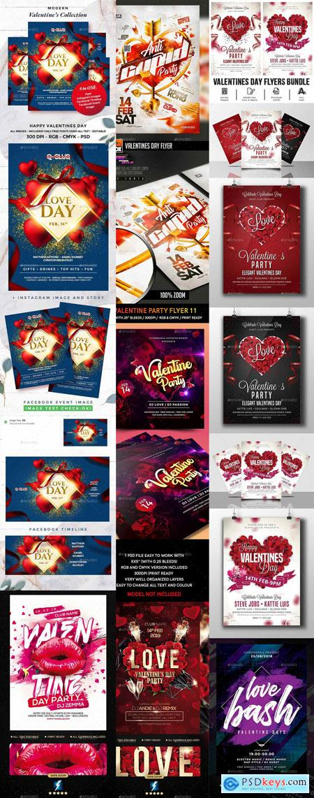 Flyer Valentines Template Vip Part 3 PREVIEW 21-JAN-2020