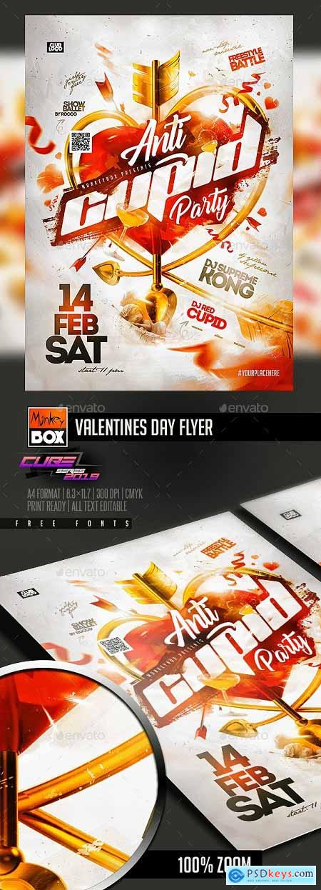 Valentines Day Flyer 23200660