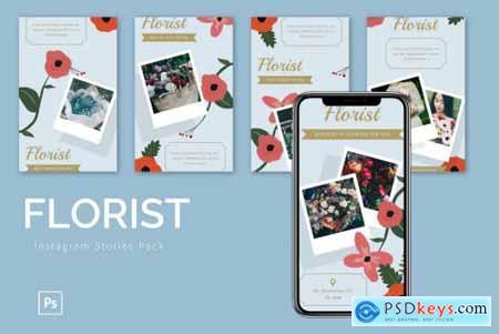 Florist - Instagram Story Pack
