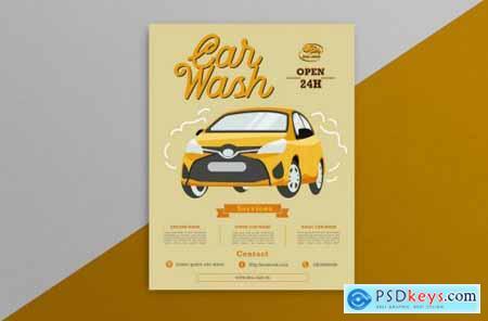 Car Wash Flyer 4